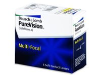 PureVision Multi-Focal Power: -2.25, BC: 8.60, DIA: 14.00, Add power: Low (+1.50)
