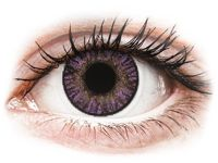 Purple Amethyst contact lenses - FreshLook ColorBlends - Power Power: -0.25, BC: 8.60, DIA: 14.50