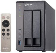 QNAP 2-Bay NAS, Intel Celeron Quad-Core 2.0GHz (up to 2.42GHz), 2GB DDR3L RAM (max 8GB), SATA 6Gb/s, 2 x GbE, hardware transcoding, HDMI out with kodi, remote control included, Virtualization Station,