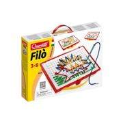 Quercetti Filo Drawing Laces With 4 Coloured Laces 8 Laces Included Ages 3-8 Yeaers