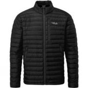 Rab Mens Microlight Jacket Black Black S