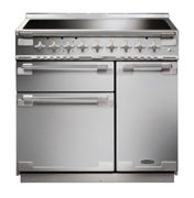 Rangemaster 107930 Elise 90cm Induction Range Cooker In Stainless Steel