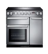 Rangemaster NEX90EISS/C Nexus 90 Induction Range Cooker, Stainless Steel