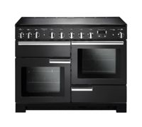 Rangemaster PDL110EICB/C Professional Deluxe 110cm Electric Induction Range Cooker Charcoal Black