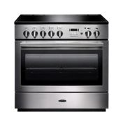 Rangemaster PROP90FXEISS/C Professional Plus FX 90 Electric Induction Range Cooker Stainless Steel