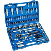 Ratchet with socket set 94 PCs. - black