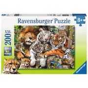 Ravensburger 200 XXL Piece Puzzle Big Cat Nap