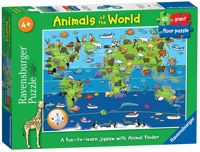 Ravensburger Animals of the World, 60pc Giant Floor Jigsaw Puzzle
