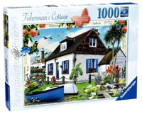 Ravensburger Country Cottage Collection No.3 - The Fisherman's Cottage, 1000pc Jigsaw Puzzle