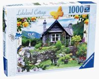 Ravensburger Country Cottage Collection No.4 The Lakeland Cottage, 1000pc Puzzle
