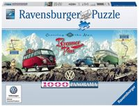 Ravensburger Cross the Alps with VW! Panoramic 1000pc Jigsaw Puzzle