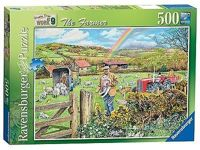 Ravensburger Happy Days at Work No.9 - The Farmer, 500pc Jigsaw Puzzle