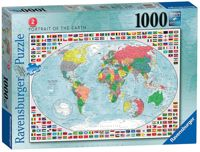 Ravensburger Portrait of The Earth 2 1000pc Jigsaw Puzzle