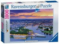 Ravensburger The Rhine & The Moselle Koblenz 1000pc Jigsaw Puzzle