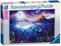 Ravensburger Whales in the Moonlight 1000pc Jigsaw Puzzle