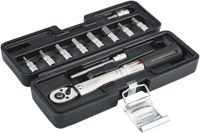 """Red Cycling Products PRO Torque Wrench 1/4"""" 2-24Nm incl. Bits 2020 Workshop Equipment"""