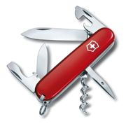 (Red) Genuine Victorinox Spartan - 12 Feature Swiss Army Knife