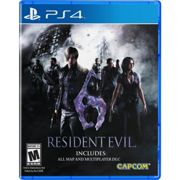 Resident Evil 6 Sony Playstation 4 Ps4 Game