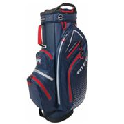 Rife Navy Blue and Red Waterproof Golf Cart Bag, Size: One Size | American Golf | American Golf