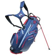Rife Waterproof Golf Stand Bag, Navy/red, One Size | American Golf