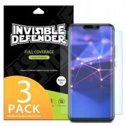 RINGKE INVISIBLE DEFENDER Case FRIENDLY Screen Protector FULL CURVED 3D for HUAWEI MATE 20 LITE - 3 PCS - CLEAR