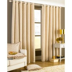 Pricehunter.co.uk - Price comparison & product search. Product image for  chenille eyelet curtains