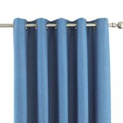 (90 x 54in (229 x 137cm), Duck Egg) Riva Home Eclipse Blackout Eyelet Curtains
