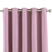 Riva Home Eclipse Blackout Eyelet Curtains (90 x 72in (229 x 183cm)) (Silver)