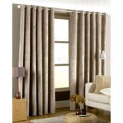 Riva Paoletti Imperial Curtains, 229x229cm, Taupe