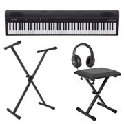 Roland Go:Piano 88 Key Digital Piano with Stand Stool and Headphones