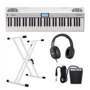 Roland Go:Piano Alexa with Stand Headphones and Pedal
