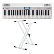 Roland Go:Piano with Alexa Voice Control with X-Frame Stand