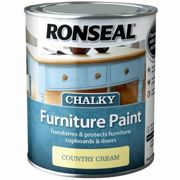 Ronseal Chalk Paint Country Cream - 750ml
