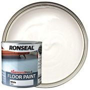 Ronseal Diamond Hard Floor Paint - Satin White 2.5L