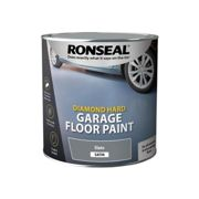 Ronseal Diamond Hard Garage Floor Paint Slate 2.5 litre