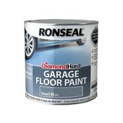 Ronseal Diamond Hard Garage Floor Paint Steel Blue 2.5 litre