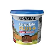 Ronseal 37621 Fence Life Plus+ Country Oak 5 Litre