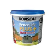 Ronseal 37629 Fence Life Plus+ Slate 5 Litre