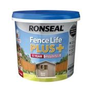 Ronseal 38396 Fence Life Plus+ Warm Stone 5 Litre