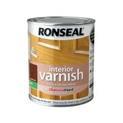 Ronseal Interior Varnish Quick Dry Matt Dark Oak 250ml