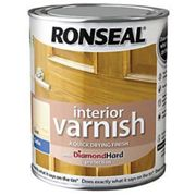 Ronseal Interior Varnish - Satin Clear 750ml