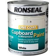 Ronseal 750ml Cupboard & Melamine Paint - White