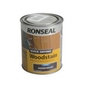 Ronseal Quick Drying Woodstain Satin Smoked Walnut 750ml
