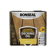 Ronseal Ultimate Protection Decking Oil Natural Pine 2.5 litre