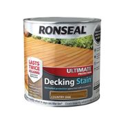 Ronseal Ultimate Protection Decking Stain Country Oak 2.5 litre