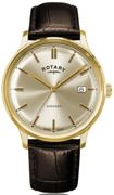 Rotary Watch Avenger Gold PVD Mens Gold