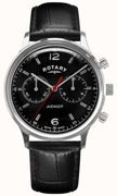 Rotary Watch Avenger Mens Black