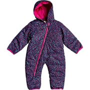 ROXY Rose Jumpsuit Kids Medieval Blue Sweet Marguerite - Ski onepiece - Purple/Pink/Blue - taille 12/18 mois