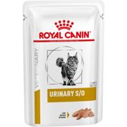Royal Canin Veterinary Diets Urinary SO Pouches Cat Food 85g x 96 Loaf in Sauce