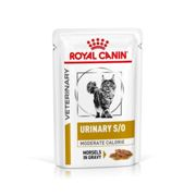 Royal Canin Veterinary Urinary SO Moderate Calorie Cat Food 85g x 12
